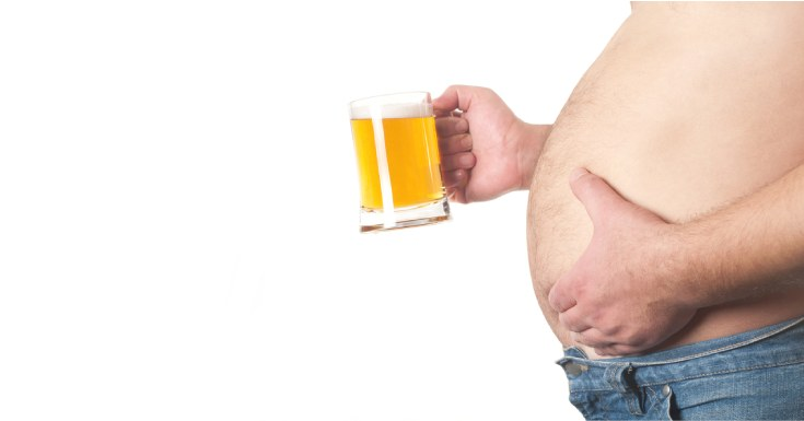 Alcohol Consumption Causes Weight Gain